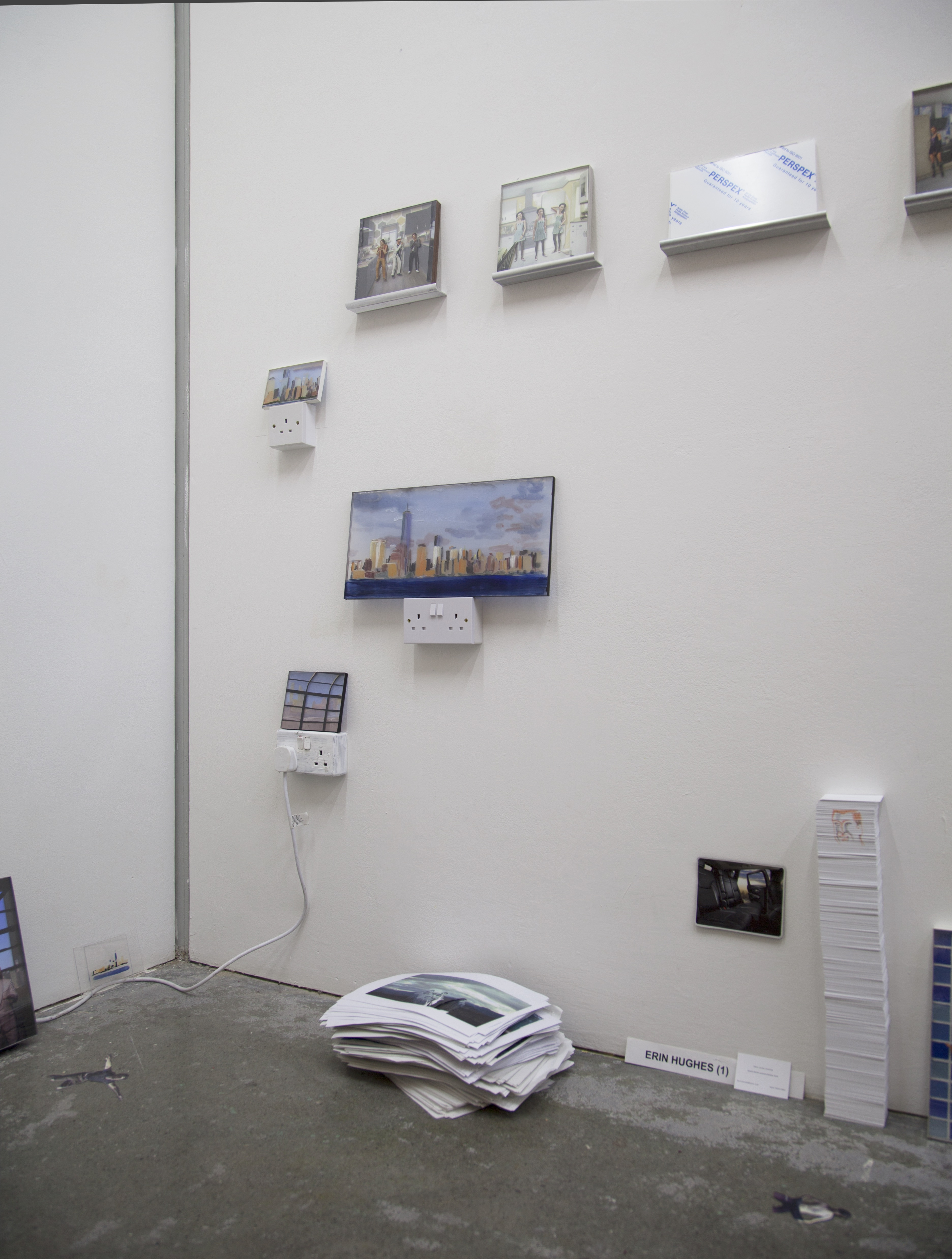 8 plug paintings
